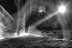 Barn Light Painting 001